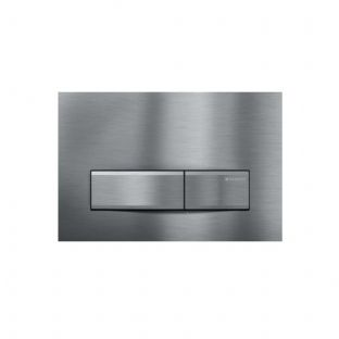 Geberit Sigma50 Brushed Chrome Dual Flush Plate - 115.788.GH.5